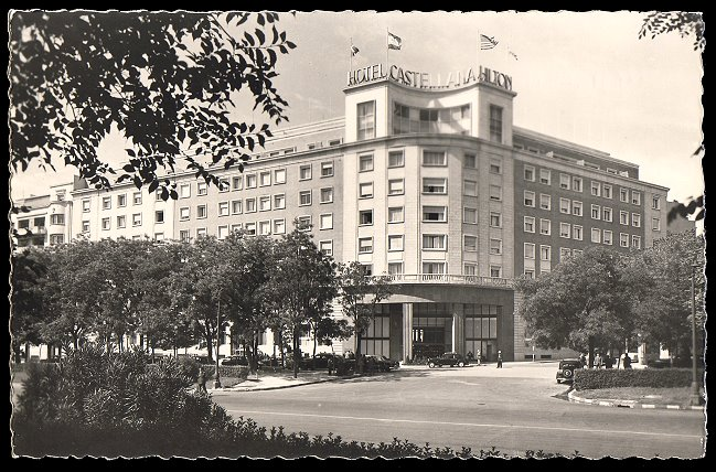 The Hotel Castellana Hilton Opened In 1953 As One Of The